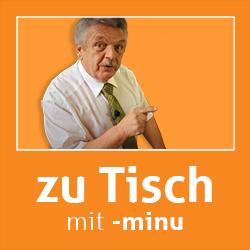Zu Tisch mit -minu: Helmut Hubacher
